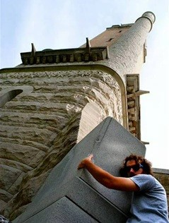 A submission from last year. This guy really likes Compton Heights' water tower.