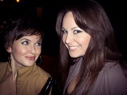 Jen Caudill (left) and Erin Haney - TWITTER.COM/PODIUMLADIES