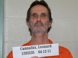 Leonard Cannafax is currently in year two of a 25-year sentence. - MO. DEPT. OF CORRECTIONS