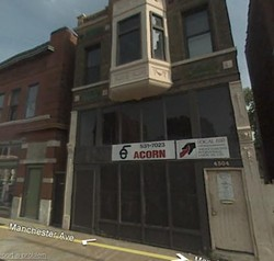 The ACORN office on Manchester Road. - GOOGLE STREET VIEW