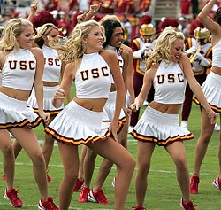 Yeah, it's sexist. But you know what? I just couldn't find any pictures of Lane Kiffin I really liked. So there. - USC.EDU