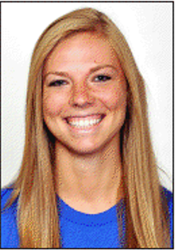 Megan Boken, shown here during her days as SLU student/athlete. She was murdered  by Kieth Esters on August 18, 2012.