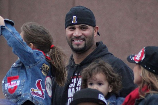 Albert Pujols in 2011. - VIA WIKIMEDIA COMMONS