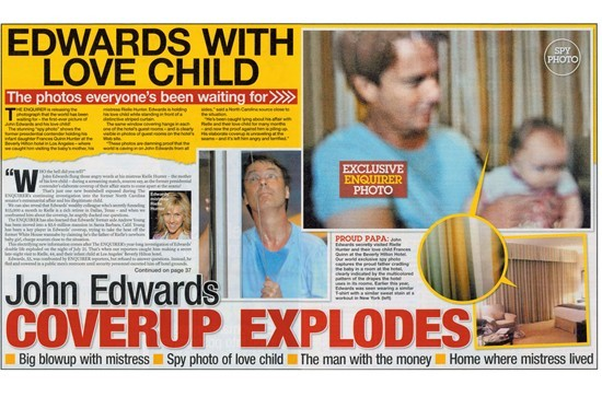 We now know who's behind John Edwards' implosion.