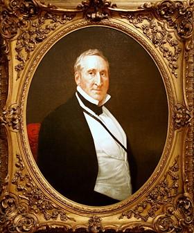 Thomas Hart Benton, after his dueling years. - IMAGE VIA
