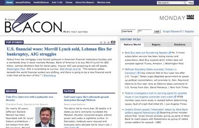 The Beacon Web site.