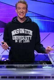 Wash. U. junior Nick Yozamp is competing on Jeopardy! this afternoon. - COURTESY OF JEOPARDY!