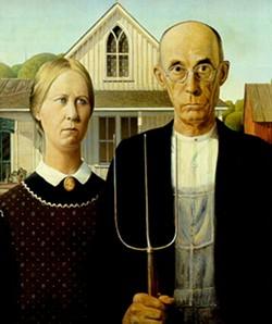 A decent couple,  Exhibit A