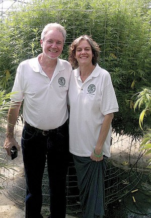 Show-Me Cannabis' Mark Pedersen and Regina Nelson, the founder and director of the Cannabis Patient Network Institute. - COURTESY MARK PEDERSEN