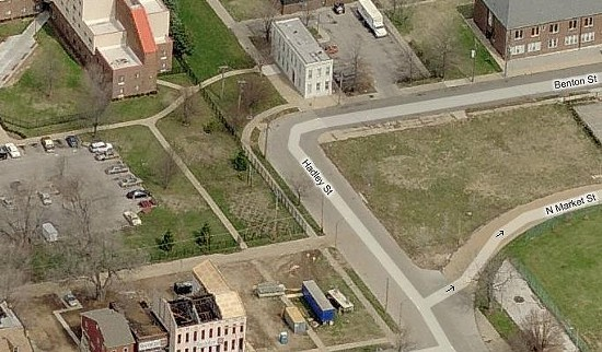 The incident occurred in the 2400 block of Hadley. - BING BIRD'S EYE VIEW