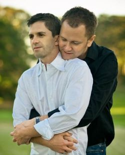 One of the ACLU's plaintiff couples, LeRoy Fitzwater and Alan Ziegler. - USED WITH PERMISSION: TOMMY WU