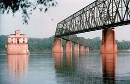 Chain of Rocks Bridge: A good place for another St. Louis casino? - IMAGE VIA