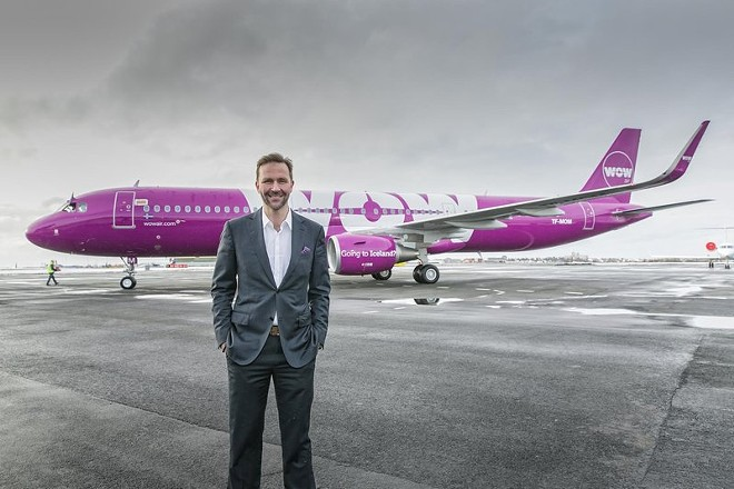 Skúli Mogensen, the founder and CEO of WOW air. His company is departing St. Louis' airport. - COURTESY OF WOW AIR