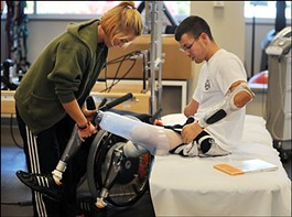 Todd A. Nicely was awarded the Navy and Marine Corps Achievement Medal - IMAGE VIA WASHINGTONPOST.COM