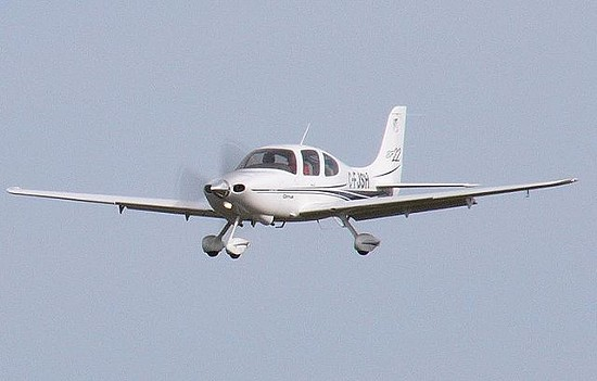 An airplane like this one crashed on Saturday in Wildwood. - VIA WIKIMEDIA COMMONS