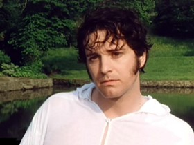 St. Louisan and Oscar winner Colin Firth in one of his most celebrated roles: Mr. Darcy in the BBC's Pride and Prejudice. - IMAGE VIA