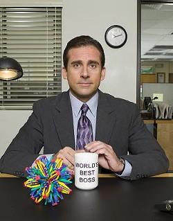 Suddenly Michael Scott is looking like a hell'uva a good boss.
