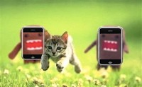 If the iPhone isn't green, that means it will destroy kittens.