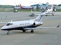 Raytheon Hawker jet - FLIGHTAWARE.COM