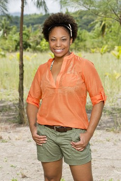 "Latasha ""Tasha"" Fox, from St. Louis, competes on the newest season of Survivor. - CBS/MONTY BRINTON"