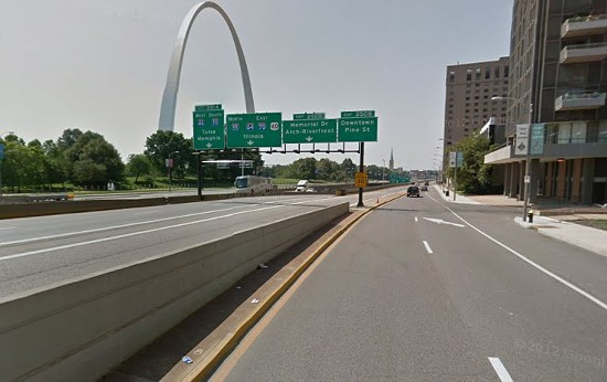 Memorial Drive. - VIA GOOGLE MAPS