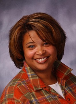 Maria Chappelle-Nadal is smiling but really she's outraged. - IMAGE SOURCE