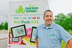 A Shrewsbury police detective is starting a luxury porta-potty business. - GREGORY HAUG