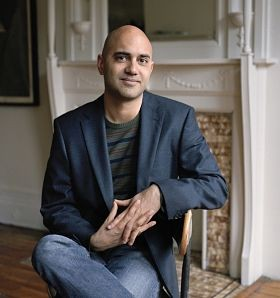 Ayad Akhtar, novelist, playwright, screenwriter, exhausted. - NINA SUBIN