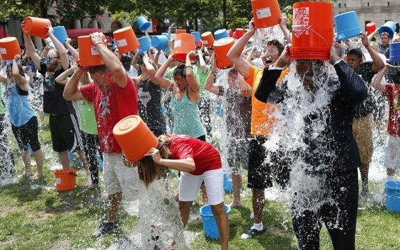 The ice bucket challenge raises money for an organization the Archdiocese of St. Louis says it can't support. - THEGLOBALPANORAMA ON FLICKR