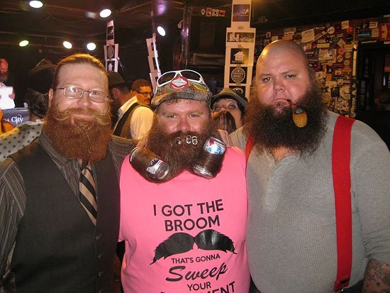 Richie Darling founded the St. Louis Beard and Mustache Club almost a year ago. - ST. LOUIS BEARD AND MUSTACHE CLUB