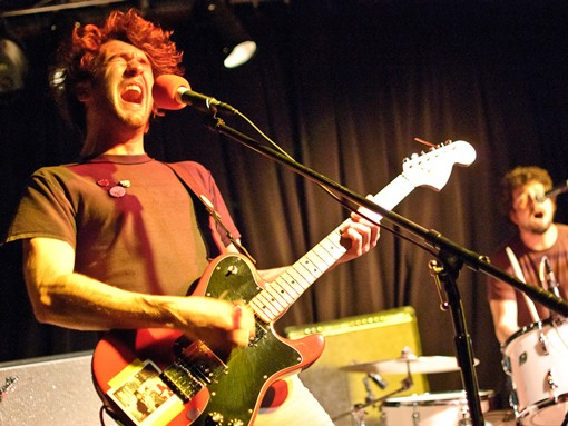 The Japandroids played Friday night at the Billiken Club. See more photos from the show. - PHOTO: JASON STOFF