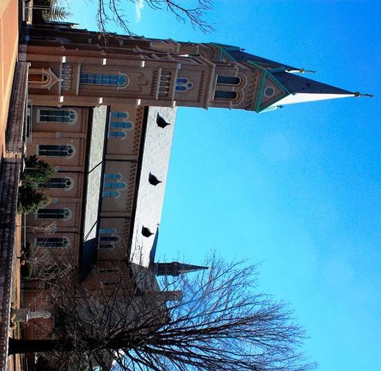 St. Anthony of Padua on Meramec Street in Dutchtown.