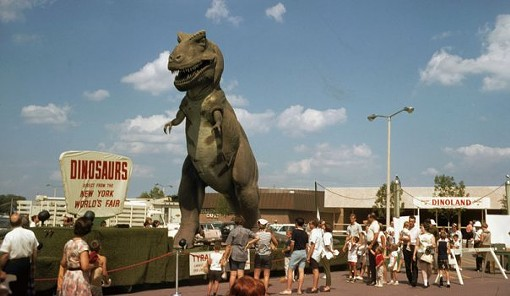 Northwest Plaza in its glory days, when dinosaurs still roamed the Earth. (Actually, 1966.) - NOCOSTL.COM/2009/10/TIME-CAPSULE-NORTHWEST-PLAZA