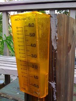 Area rain gauges runneth over in June.