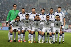 Team Bosnia. Vedad Ibisevic is third from the left on the top row. - ULICAR STREETS ON FLICKR