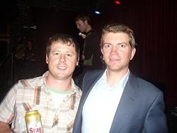 "Matt Hay and Ryan Keane at ""Stop the Scameras."""