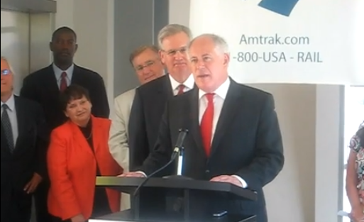 Jay Nixon and Pat Quinn at a press conference - YOUTUBE SCREENSHOT