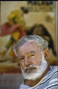 Hemingway in 1960. - FLICKR.COM/PHOTOS/JOHNMCNAB