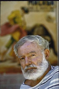 Hemingway in 1960. - FLICKR.COM/PHOTOS/JOHNMCNAB