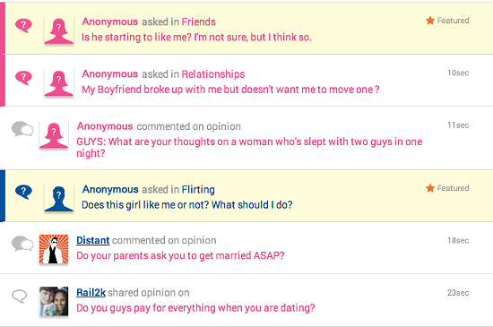 Need an answer from the opposite sex? Just ask Girls Ask Guys. - GIRLSASKGUYS.COM