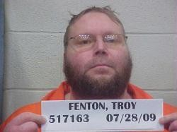 Troy Fenton's robbery conviction places him higher up in the prison hierarchy.