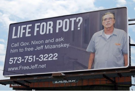 Jeff Mizanskey has been in prison for nearly 21 years. - SHOW-ME CANNABIS