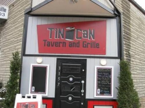 What's the best day to drink at the Tin Can Tavern? Friday!