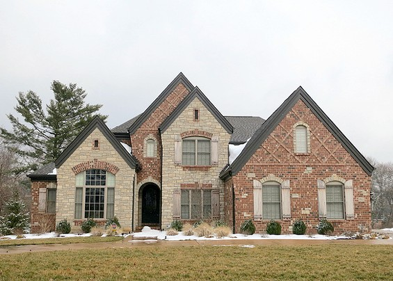 A year-old home in Ladue. - PAUL SABLEMAN ON FLICKR