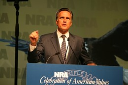 Mitt Romney will speak at the NRA convention in St. Louis next week! - IMAGE VIA