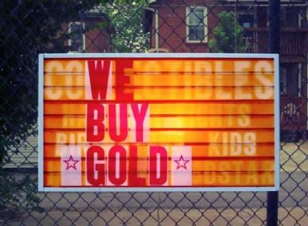 We Buy Gold - TATE FOLEY