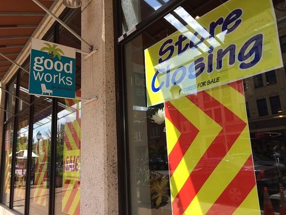 Good Works started a retirement sale this week. - LINDSAY TOLER