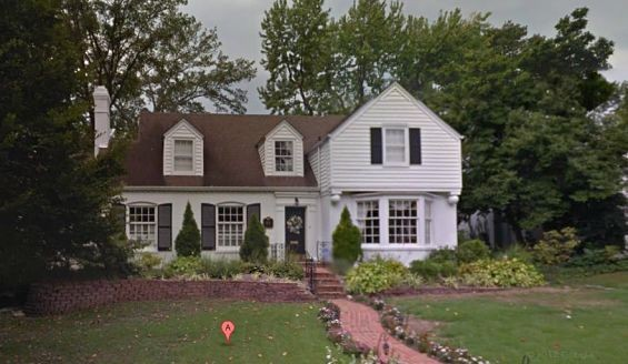 """House For Sale: One childhood home of Great American Novelist. Five BR, 1.5 bath, 3.673 sq. ft., immortalized in essay collection memorably described by the New York Times as """"an odious self-portrait of the artist as a young jackass."""""""