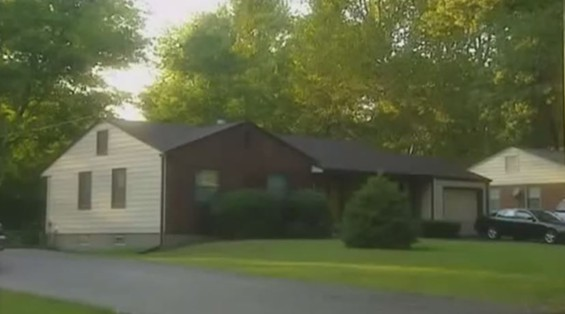 The north St. Louis County house where Maury Travis, then Catrina McGhaw, lived. - YOUTUBE
