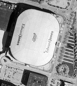 Perhaps a helicopter tour is the best way to sell the Jones Dome - IMG.GROUNDSPEAK.COM